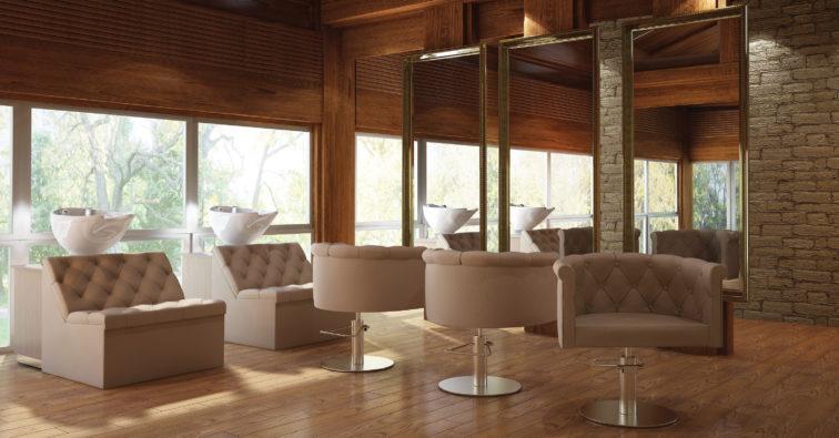 Fotel Fryzjerski Mali