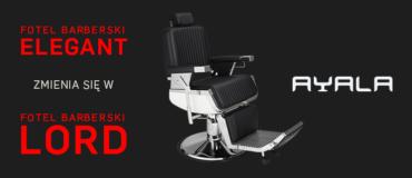 Barber Stuhl ELEGANT Ändert sich zum Barber Stuhl LORD